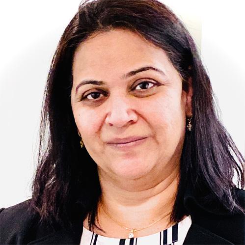 Madhavi Rampalli, Chief Financial Officer